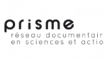 Logo de l'association Prisme, Réseau documentaire en sciences et action sociales ; documentation sociale