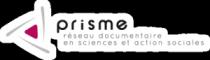 Logo de l'association Prisme, Réseau documentaire en sciences et action sociales ; documentation sociale